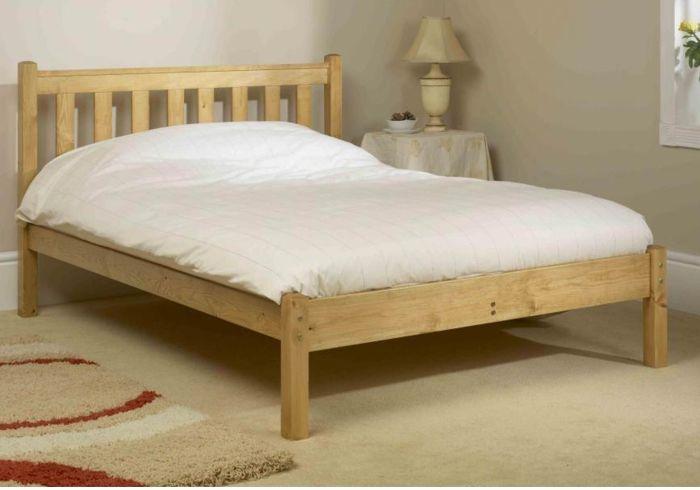Friendship Mill Shaker Wooden Bed Frame