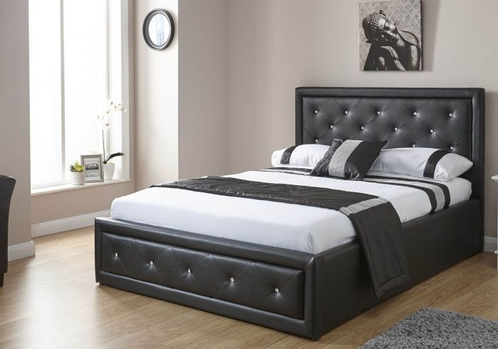 GFW Furniture Hollywood Storage Bed