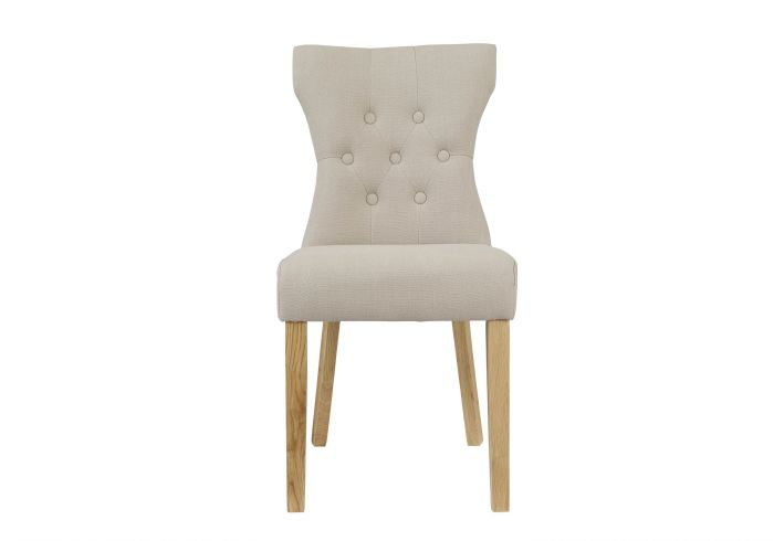 LPD Naples Chair Beige Pack Of Two