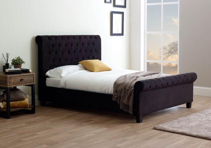 Limelight Orbit Fabric Bed Frame