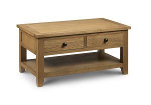 Julian Bowen Astoria Coffee Table With Drawers