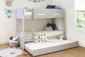 Flintshire Billie Wooden Bunk Bed with Trundle