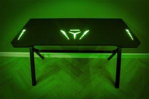 Flair Power D LED Gaming Desk