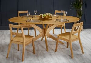 LPD Malmo Dining Table White Oak