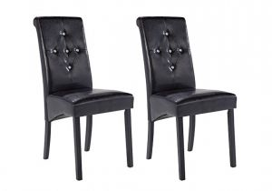 LPD Monroe Diamante Dining Chairs Set of 2