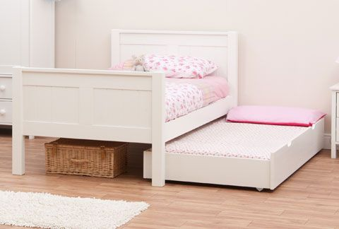 Stompa Classic Kids White Single Bed