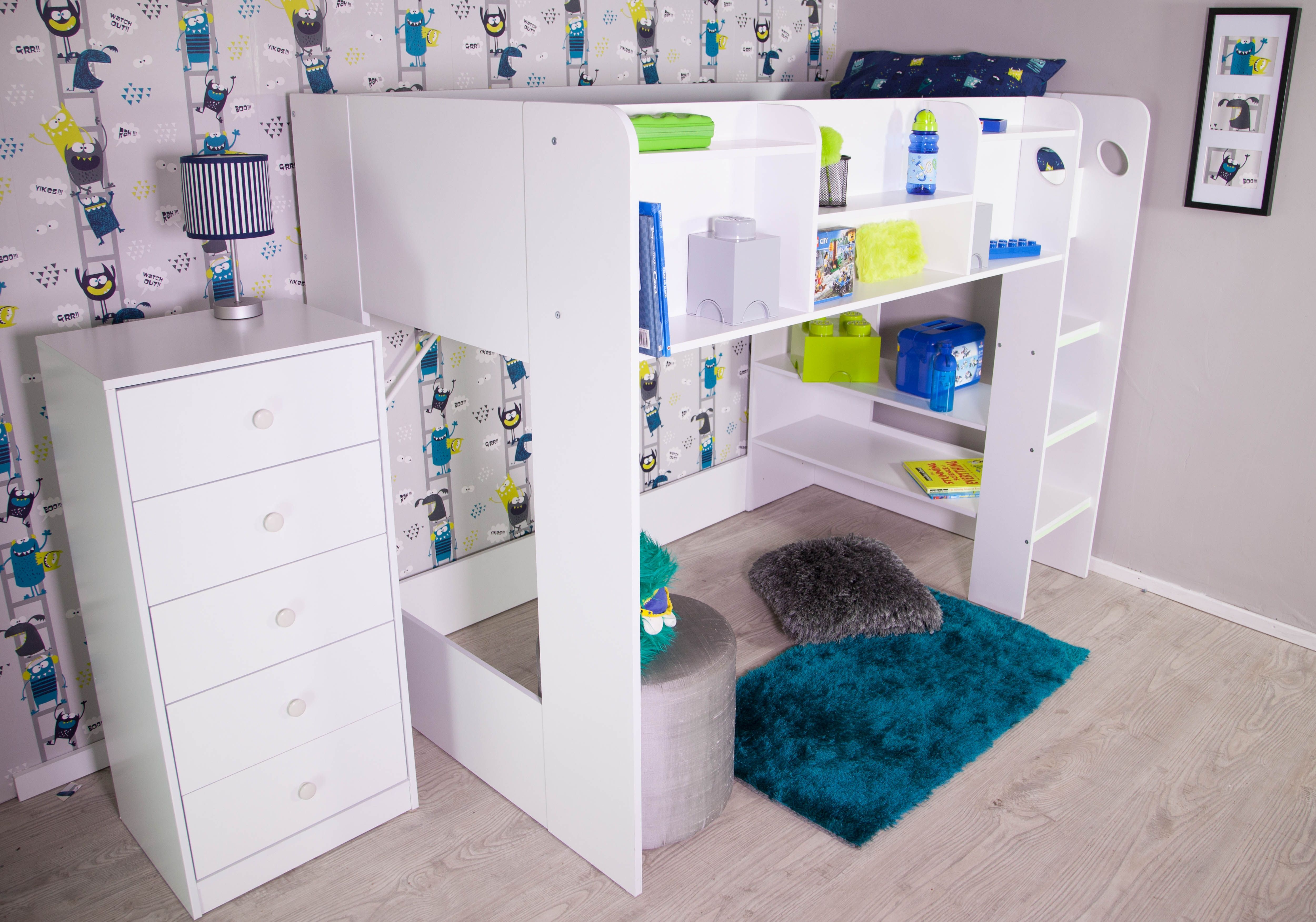 Picture of: Flair Furnishings Wizard Junior High Sleeper