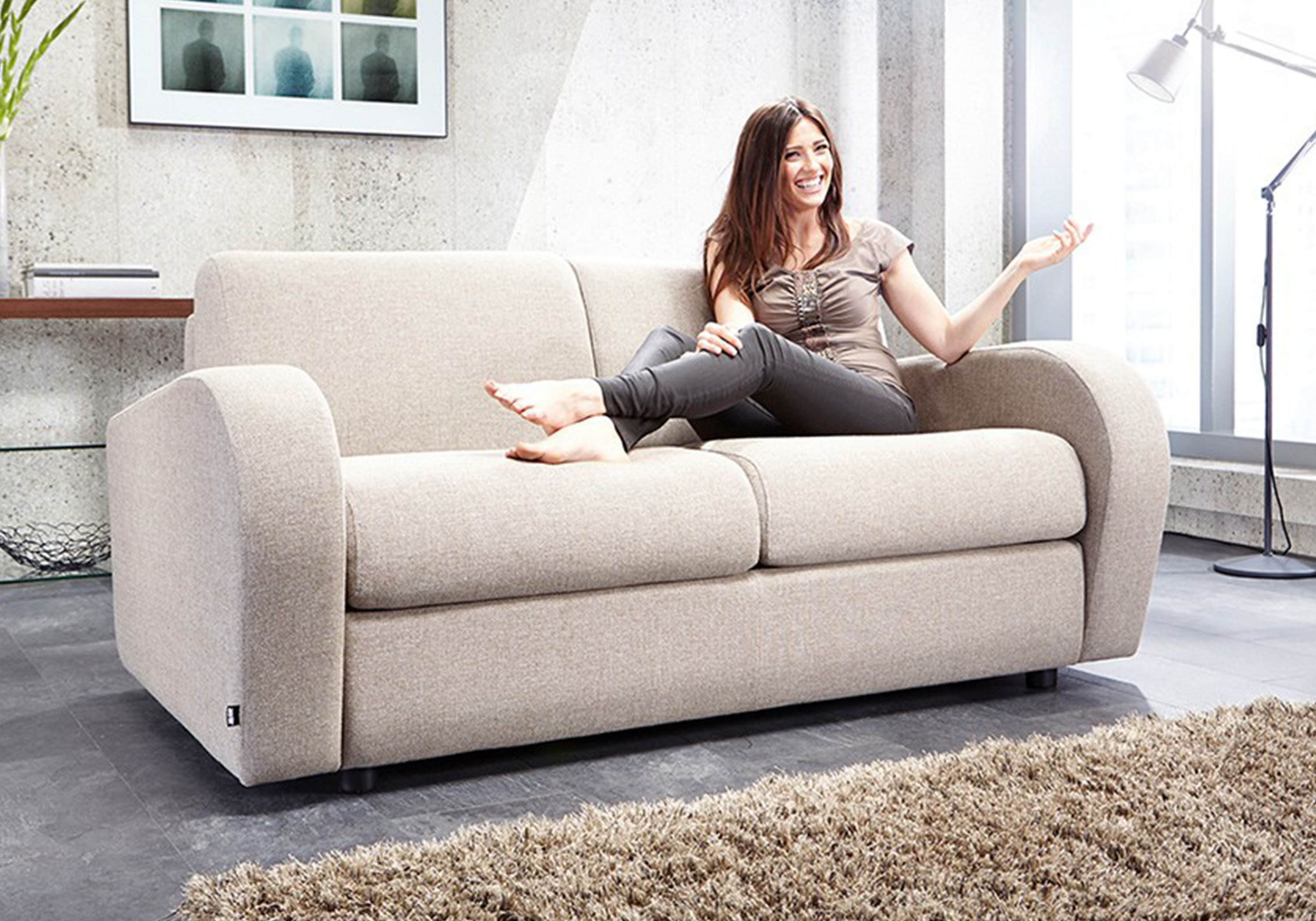 Jay Be Retro Deep Sprung 2 Seater Sofa Bed