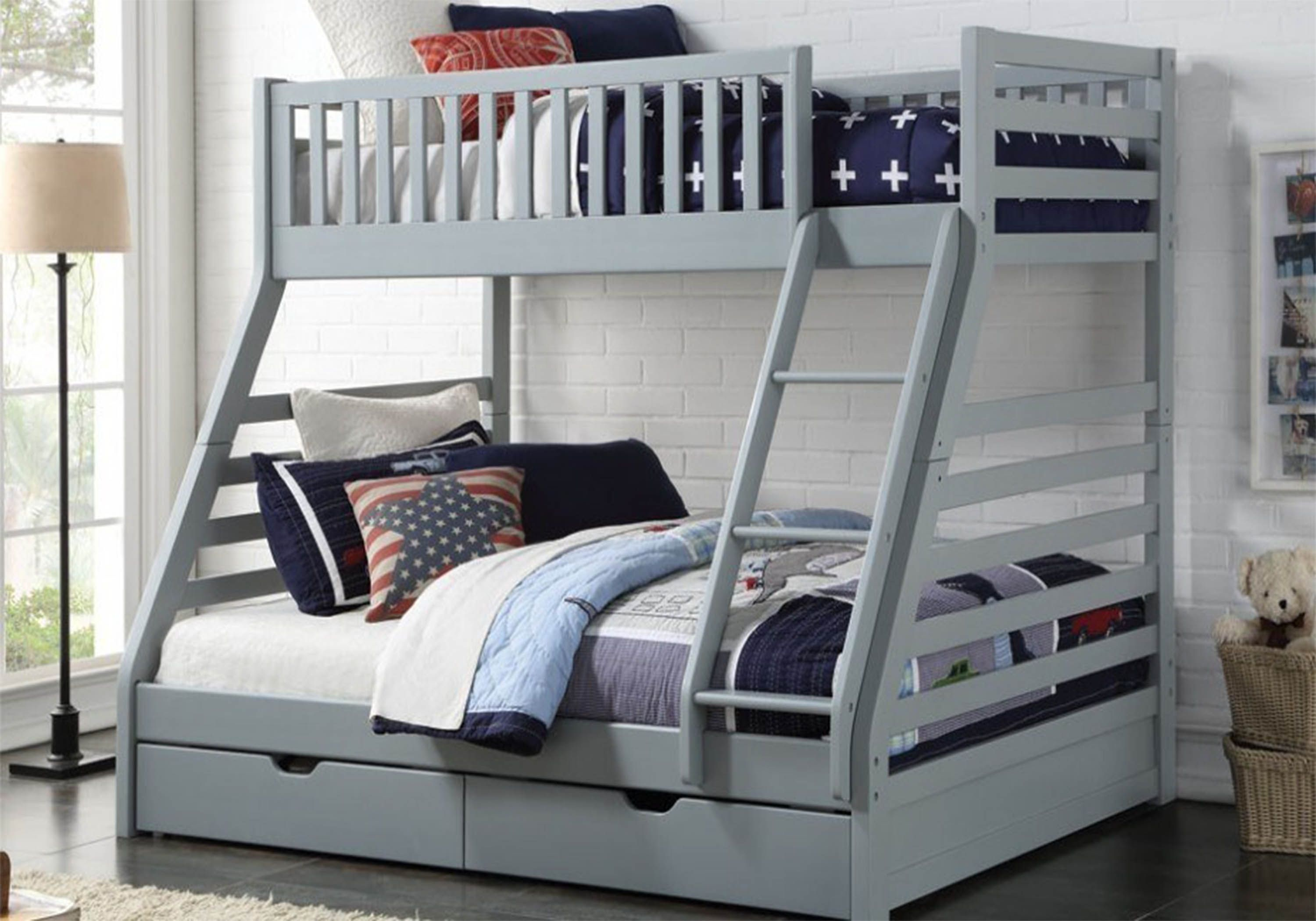Picture of: Sweet Dreams States Triple Bunk Bed