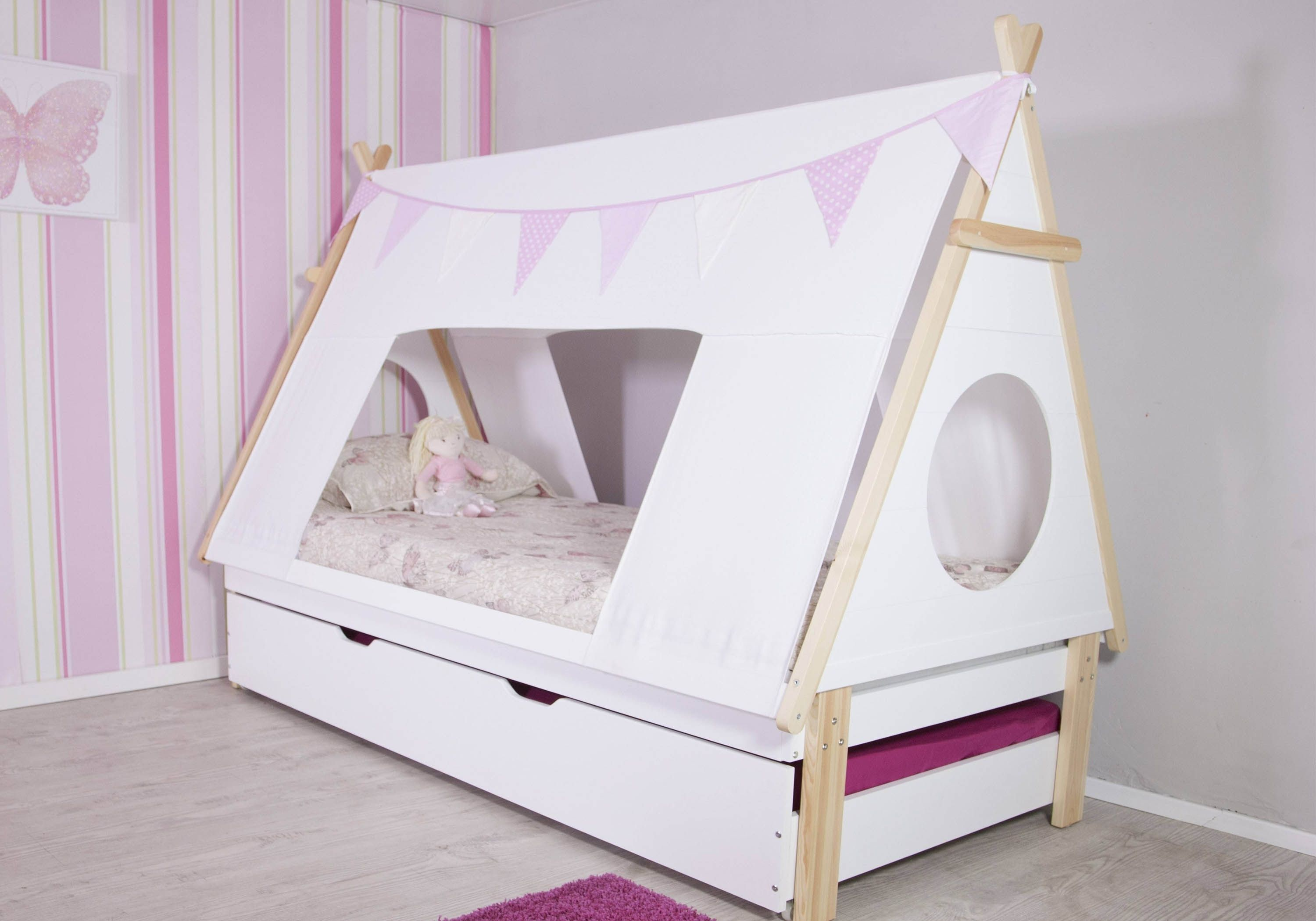 teepee tent bed frame