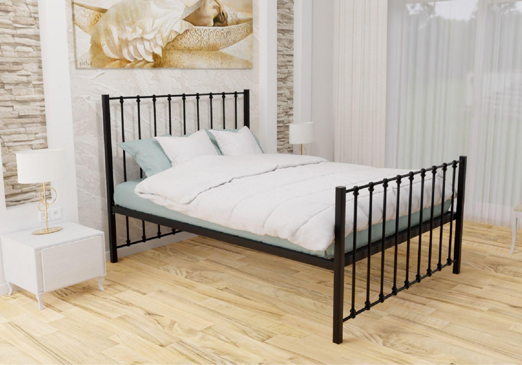 Metal Beds Ltd Krisjon Wrought Iron Bed Frame