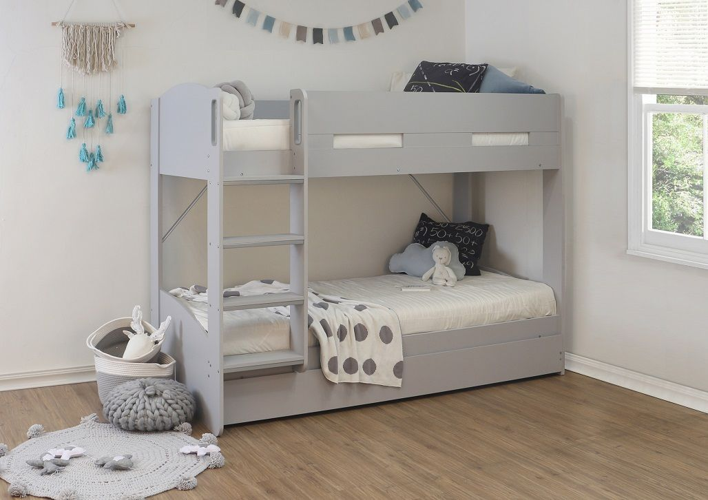 Picture of: Flintshire Billie Wooden Bunk Bed With Trundle