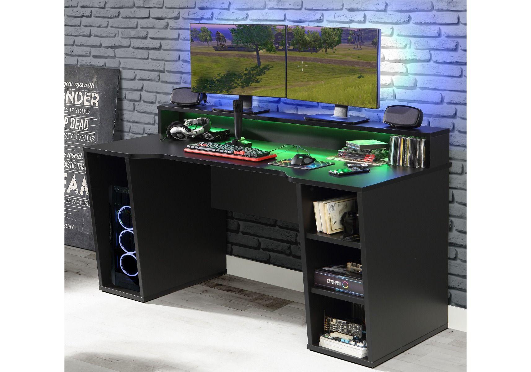 Flair Furnishings Power X Gaming Desk