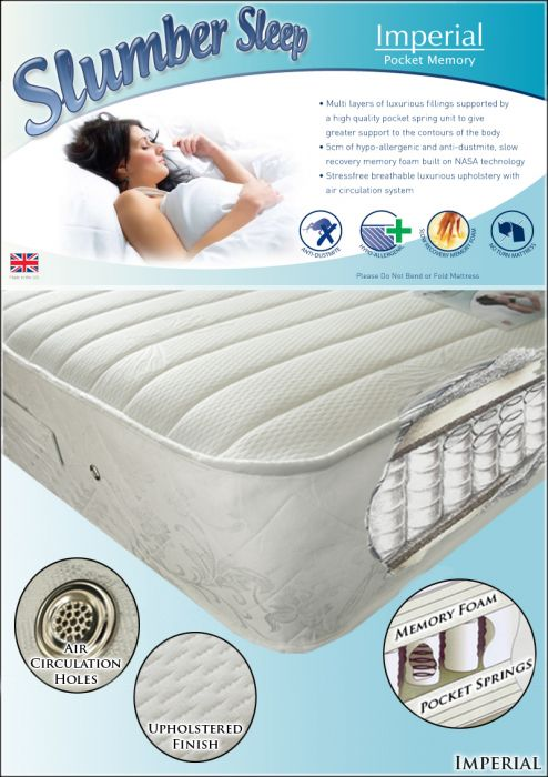 Time Living Imperial 1200 Pocket Memory Mattress
