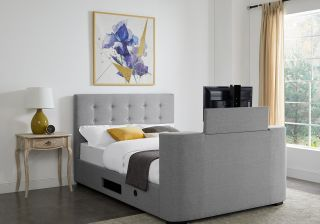 LPD Mayfair Fabric TV Bed Frame