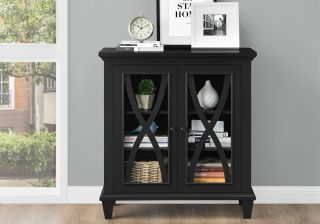 Dorel Ellington Double Door Accent Cabinet