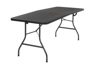 Cosco Deluxe Fold In Half Blow Moulded Folding Table