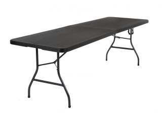 Cosco Deluxe 8 Foot Fold In Half Blow Moulded Table