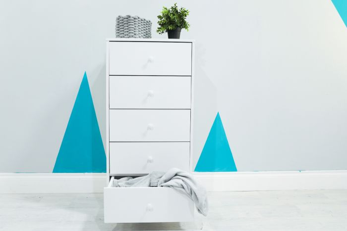 Flair Furnishings Wizard White Chest of Drawers
