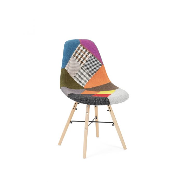 Birlea Bourne Patched Chair - Pair