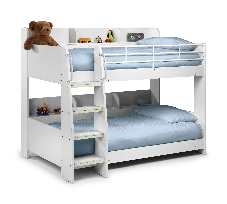 Julian Bowen Domino Bunk Bed White Bunk Beds Kids Beds